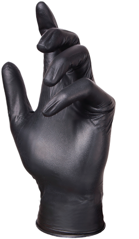 Glove Plus Prime Nitrile Black Glove
